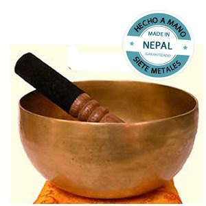 Cuenco Tibetano (19cm) hecho a mano en Nepal