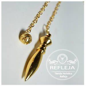 Pendulo Dorado de Metal Karnak