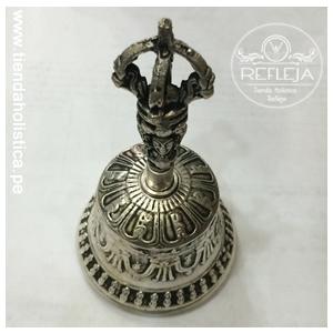 CAMPANA TIBETANA Plateado 11cm
