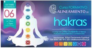Curso de Alineamiento de Chakras @ Killari Tienda Holistica