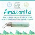Dije de Amazonita Bisuteria _Tienda Holistica Killari