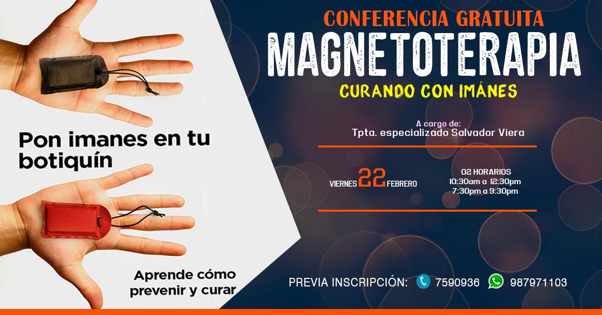 Conferencia Gratuita de Magnetoterapia