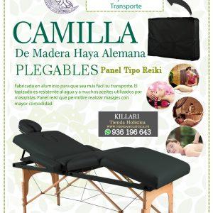Camilla Plegable de Madera, 04 Cuerpo
