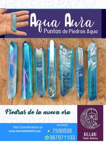 Puntas de Aqua Aura