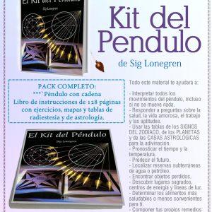 Libro Kit del péndulo (Libro y péndulo) de Lonegren, Sig