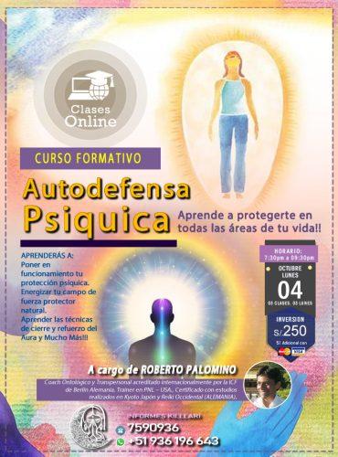 TALLER AUTODEFENSA PSÍQUICA