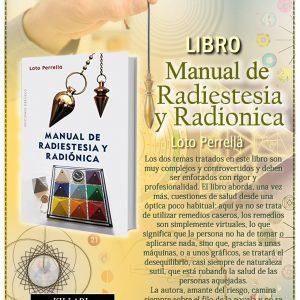 Libro MANUAL DE RADIESTESIA Y RADIÓNICA Loto Perrella