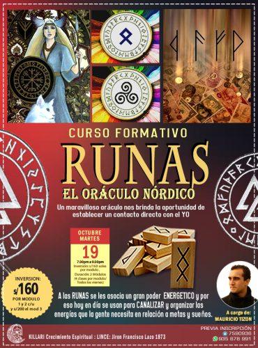 CURSO DE RUNAS ,ORÁCULO NÓRDICO
