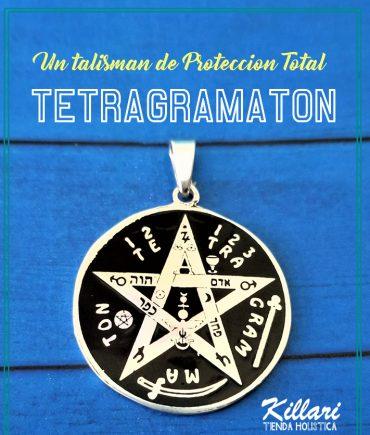 Dije tetragramaton Fotograbado Md2