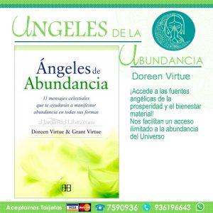 Libro: ANGELES DE ABUNDANCIA: 11 MENSAJES CELESTIALES QUE TE AYUDARAN A MANIFESTAR ABUNDANCIA EN TODAS SUS FORMAS