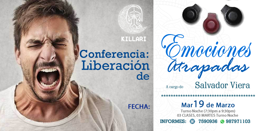 Conferencia: Liberación de Emociones