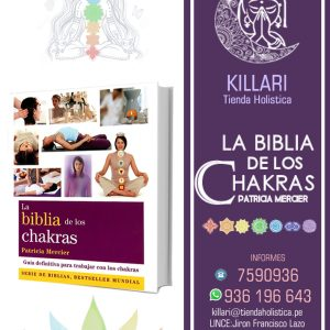 Biblia de los chakras,Mercier Patricia, Tienda Holistica Killari