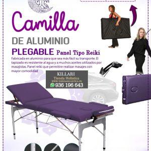 Camilla Plegable de Alumnio 03 Cuerpos