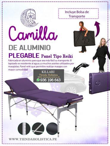 Camilla Plegable de Aluminio 03...