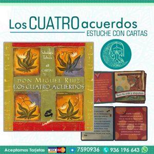 Oráculo Los Cuatro Acuerdos: Sabiduría Tolteca