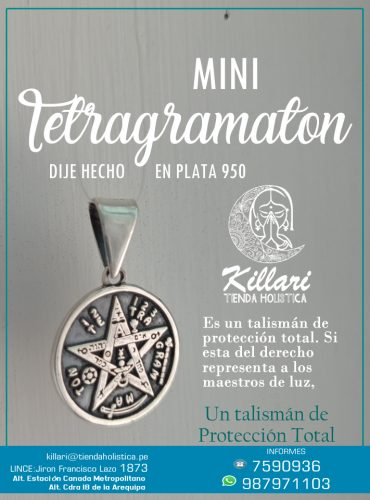 MINI TETRAGRAMATON Alto Relieve Hecho...