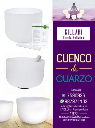 Cuenco de Cuarzo 12″ (30,48...