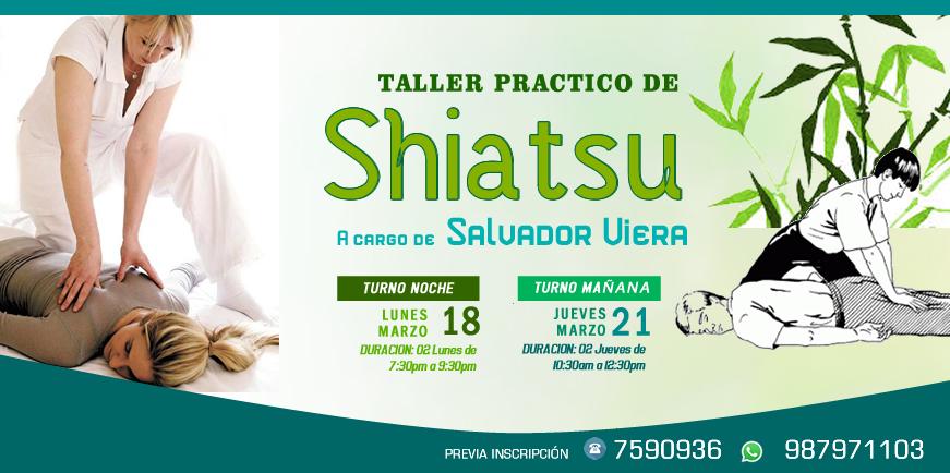 Taller Practico de Shiatsu