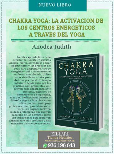 Libro CHAKRA YOGA: LA ACTIVACION...
