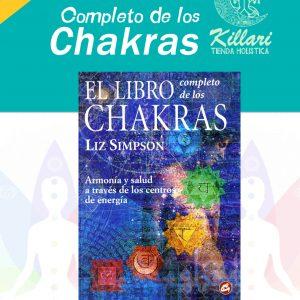 Libro completo de los chakras de Simpson, Liz