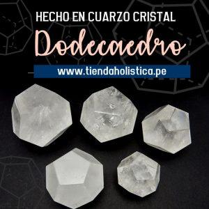 Dodecaedro de Cuarzo Cristal