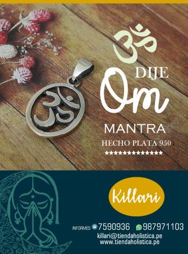 """Dije Mantra """"OM"""" Md3"""