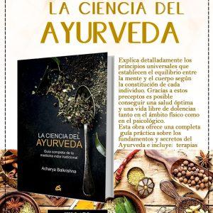 Libro La ciencia del ayurveda: Guía completa de la medicina india tradicional de Acharya Balkrishna, Tienda Holistica Killari
